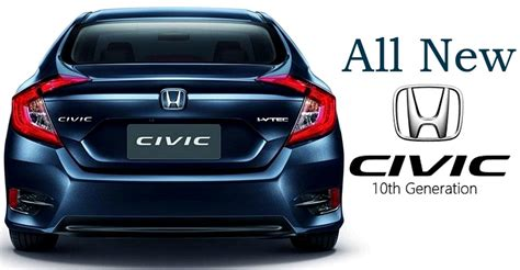kereta honda civic harga spesifikasi honda civic fc baru 2016 binmuhammad