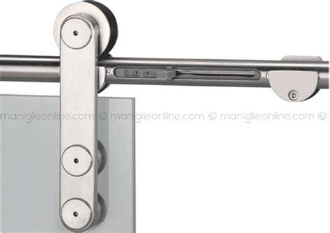 accessori per porte in vetro sistema scorrevole ammortizzato per porta in vetro singola