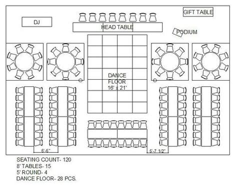 event room layout planner free rectangle and circle wedding reception floor plan maybe