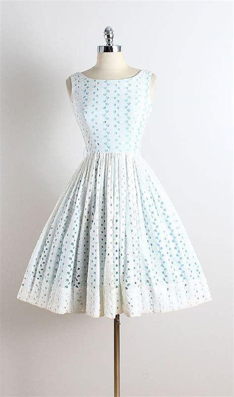 White Vintage Dress 25 best ideas about vintage dresses on 1950s