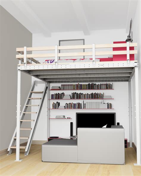 Diy Loft Beds by Diy Loft Bed Kit Expand Furniture