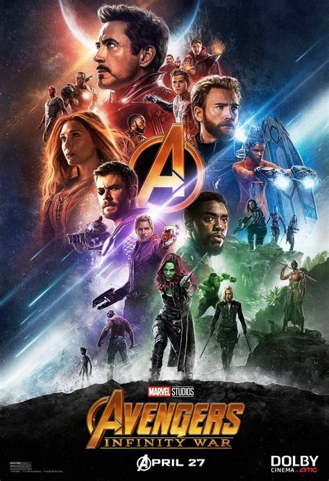 cinemaxx thor new avengers infinity war posters released