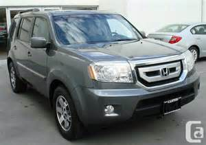 2010 Honda Pilot For Sale 2010 Honda Pilot Touring For Sale In Vancouver