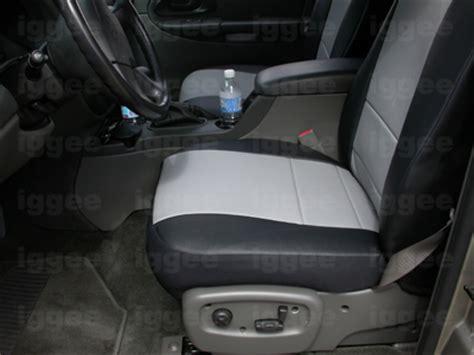 chevy trailblazer seat covers chevy trailblazer 2002 2005 iggee s leather custom seat