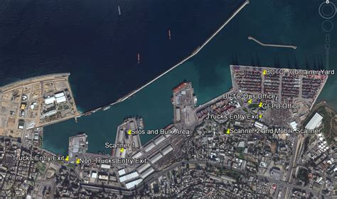 lebanon port  beirut logistics capacity