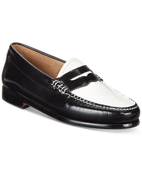 macys loafers g h bass co s weejuns loafers