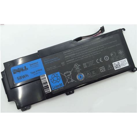 Baterai Original Dell Xps 14z 14z L412x 14z L412z V79y0 4 Cell Black genuine original v79yo 14 8v 58wh battery for dell xps 14z