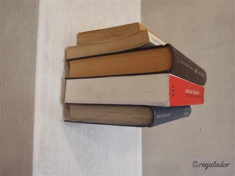 estantes para libros estante invisible para libros en regalador
