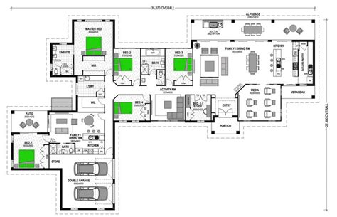 granny house floor plans montego 364 with 1br granny flat attached great pin for
