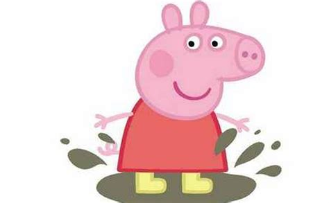 peppa pig tattoo peppa pig abc design bild