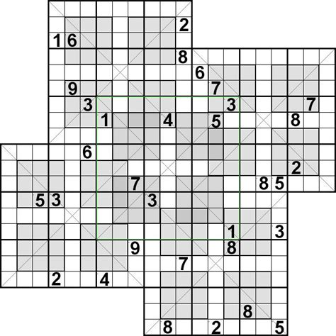 free printable diagonal sudoku puzzles 289 best images about sudoku variations on pinterest