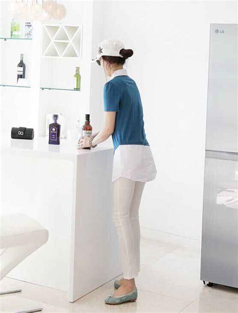 Blouse Lengan Pendek blouse lengan pendek biru simple toko baju wanita