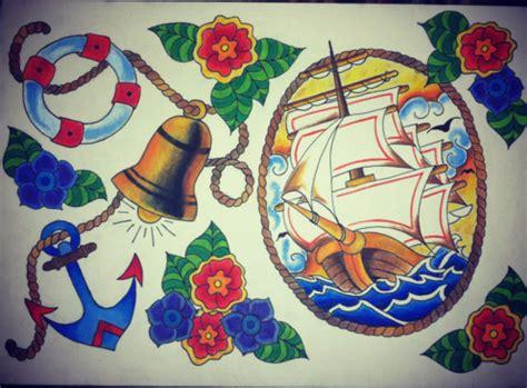 Nautical Flash Sheet By Leisaleisaleisa Nautical Flash 2