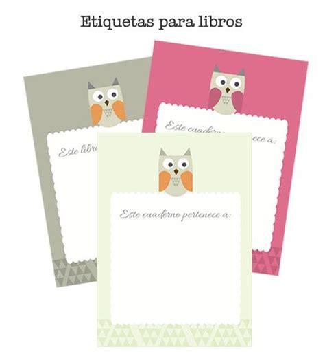 etiquetas para poner nombre a los cuadernos colorear 1000 images about ideas para imprimir on pinterest