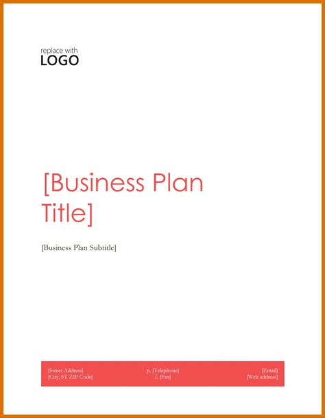 cover page template for a business plan simple business plan template wordreference letters words