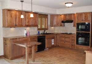 Kitchens With Hickory Cabinets by Kitchen With Glazed Hickory Cabinets Flickr Photo Sharing
