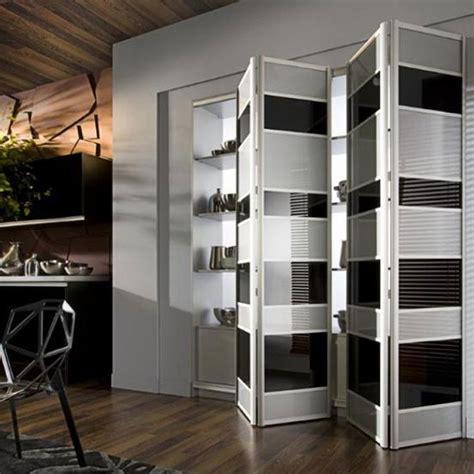 Multi Fold Closet Doors Aries Bi Fold Black And White Closet Door 008 Aries Interior Doors