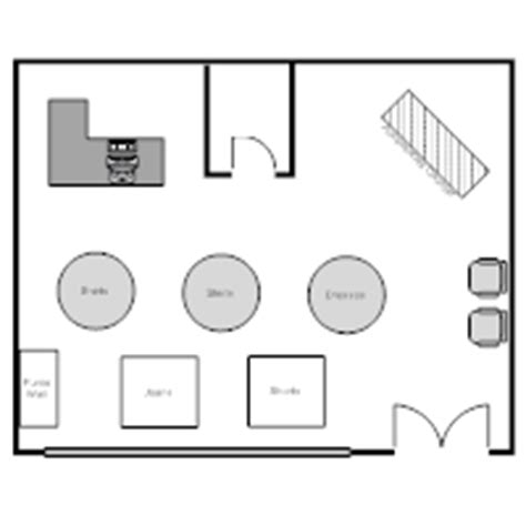 clothing store floor plan layout store layout exles