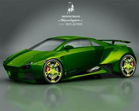 new green car lamborghini embolado world of cars