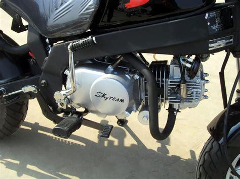 125ccm Motorrad Zulassen by Skyteam Pbr 50 50ccm Mokick Mit 2 Personen Zulassung