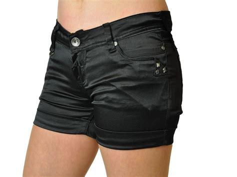 Stelan Tali Hotpants Satin 3 damen glanz hotpants shorts kurze hose xs xl ebay