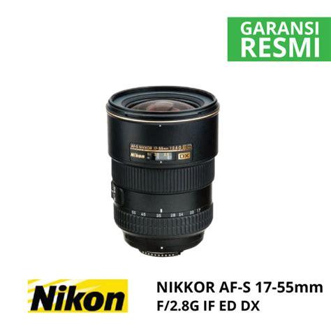 Nikon Af S Dx 17 55mm F 2 8g If Ed jual nikon af s 17 55mm f 2 8g if ed dx nikkor harga dan