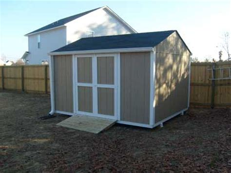 12 X 10 Shed Plans by 10x12 Gable Backyard Shed Storage For Your Yard Tools