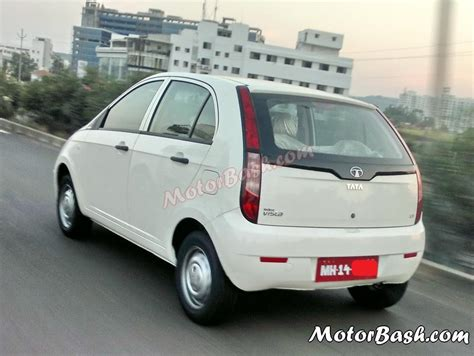 tata indica spied again tata indica vista cr4 this time with covered
