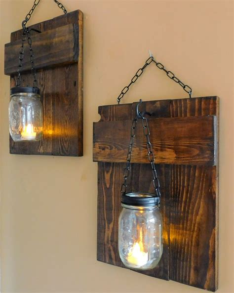 rustic pallet sconces 1001 pallets