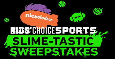 Free Slime Giveaway - win a free trip to kids choice sports in los angeles