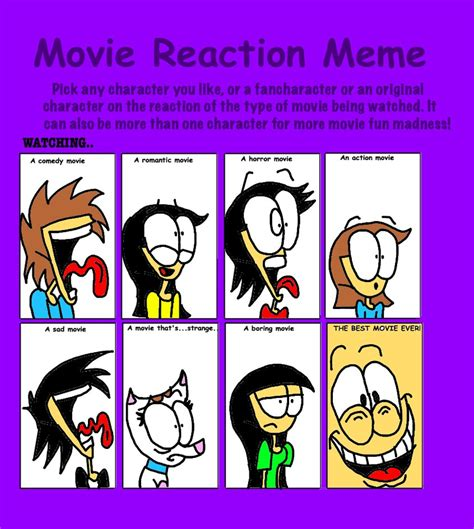 Reaction Meme - movie reaction meme by bradandez on deviantart