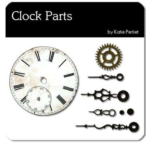 part of an old clock now a piece of art hmm vintage clock parts no 01 katie pertiet elements el145580