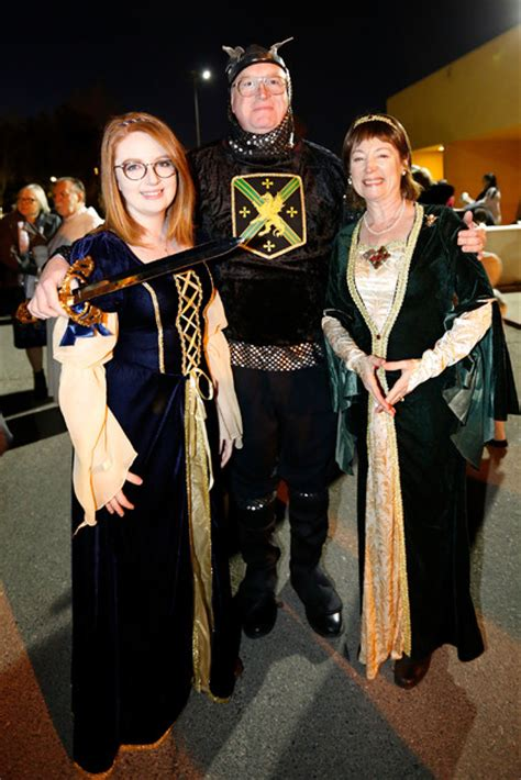 unlvs catholic newman center hosted  magical medieval feast las vegas review journal