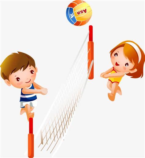 imagenes de minions jugando al voley vector playing volleyball child volleyball cartoon boy