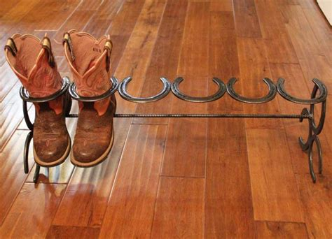 Boot Rack Plans by Diy Horseshoe Craft Project Ideas Home Design Garden