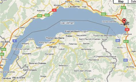 map of montreux montreux map and montreux satellite image