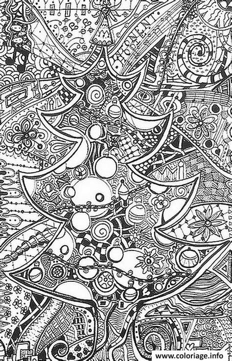 Coloriage Adulte Difficile Antistress Complexe dessin