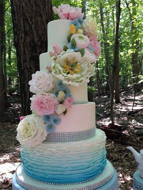 Wedding Cake Ideas 2016 by 18 Pastel Wedding Cake Ideas For 2016