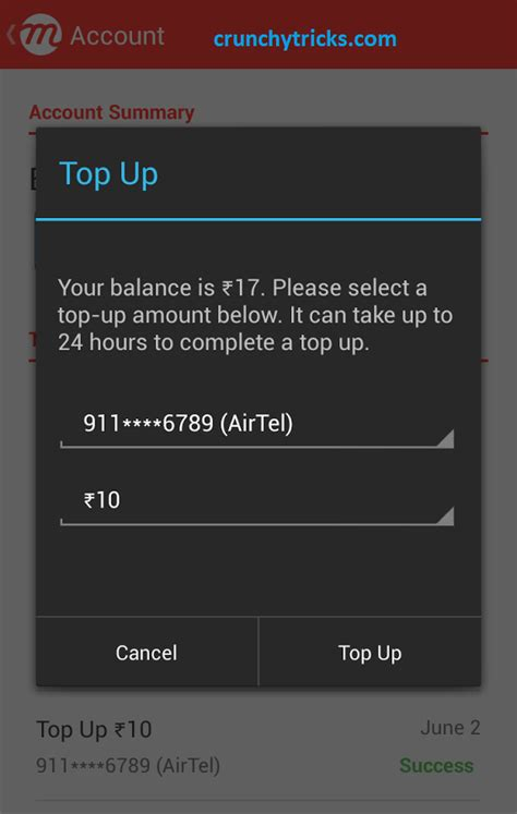 how to recharge mobile 4 android apps to earn free talktime