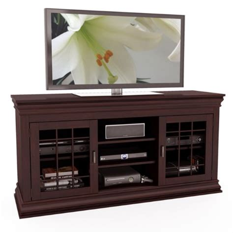 wooden tv bench sonax b 231 nct carson 60 inch wood veneer tv component