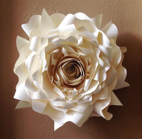 Paper Flower Wall Decor by Paper Wall Flower Wall Decor Wedding Decor