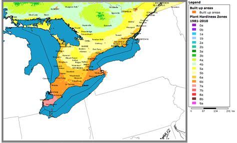 plant hardiness zones changing slowly - Gardening Zones In Ontario