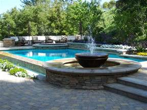 interior swimming pool water features ideas modern sliding glass doors home gym decorating
