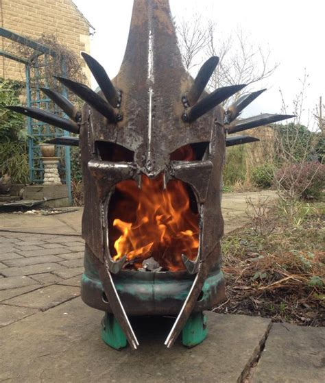 cing firepit lord of the rings witch king pit geektyrant