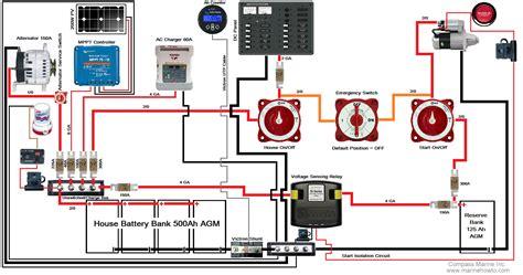 sail boat electrical plans  sail boat pomaikai