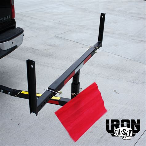truck bed extender kayak iron fist pick up truck bed hitch extender extension rack