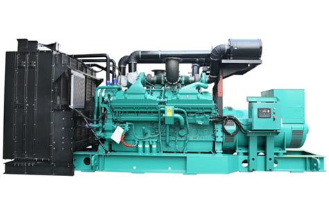 original cummins backup 1500 kva genset for sale
