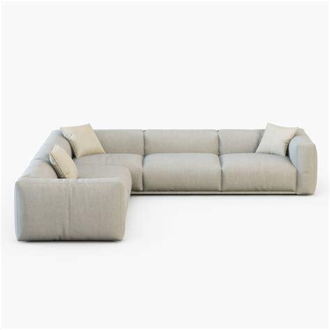 sofa bolton sofa bolton poliform 3d model max cgtrader com