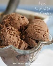 easy chocolate ice cream chocolate chocolate and more
