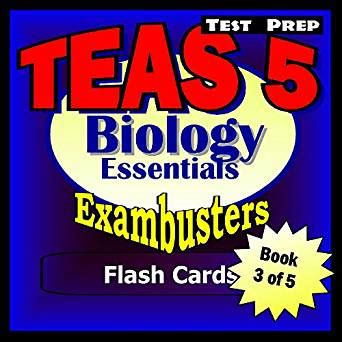 ati teas flash cards teas 6 test prep including 400 flash cards for the test of essential academic skills sixth edition books teas v test prep biology review exambusters